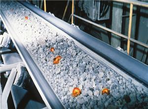 Heat resistant conveyor belt HR150