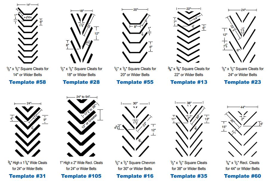 pattern belts