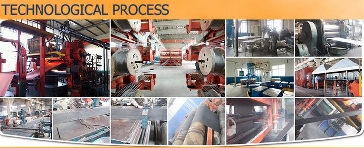 steel cord black rubber conveyor belt