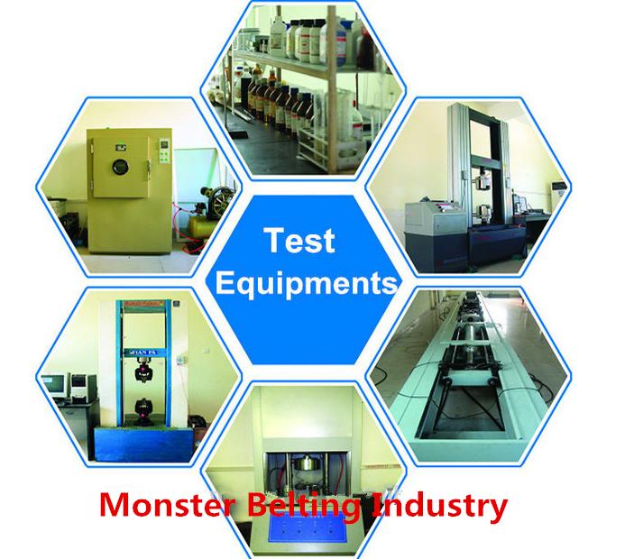 Monster belting test center