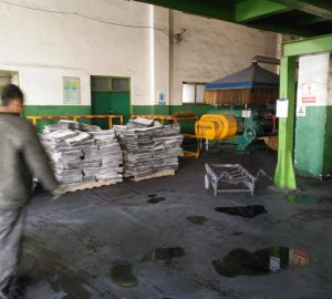 sidewall conveyor belts raw materials