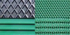Lightweight PU PVC conveyor belts