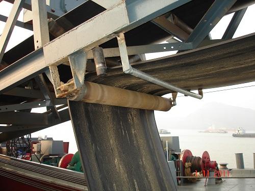 flat return roller idler use