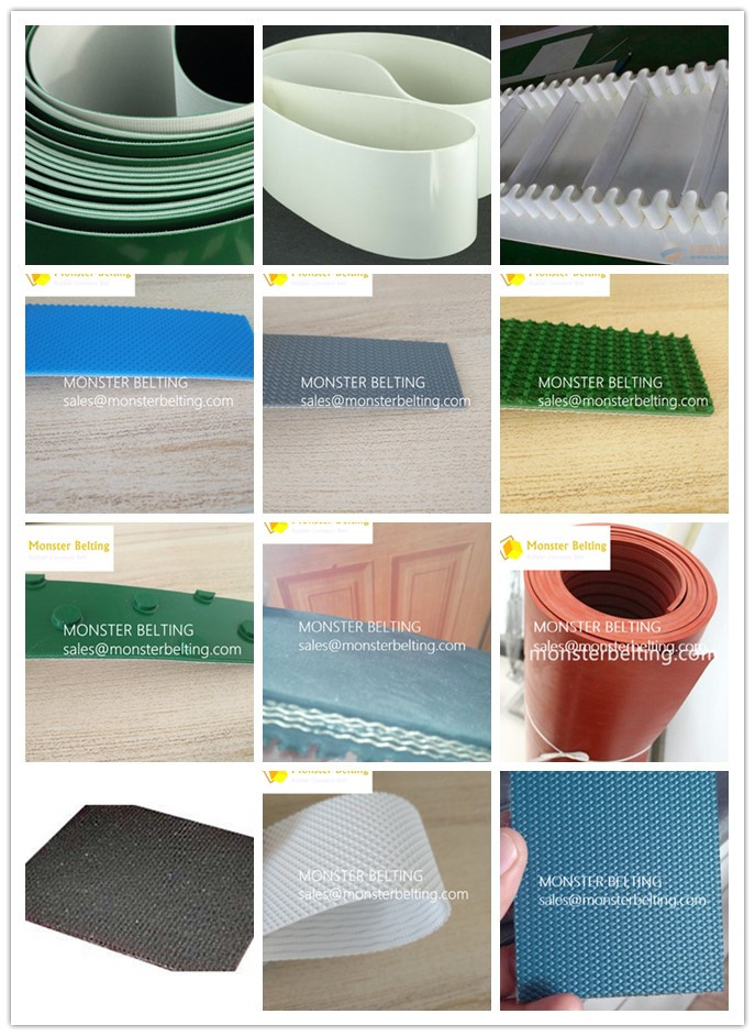 PVC PU conveyor belt