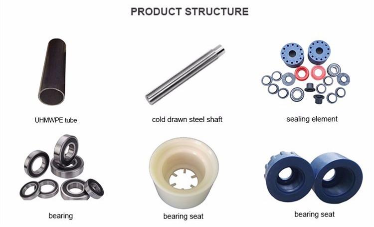 conveyor idler structure
