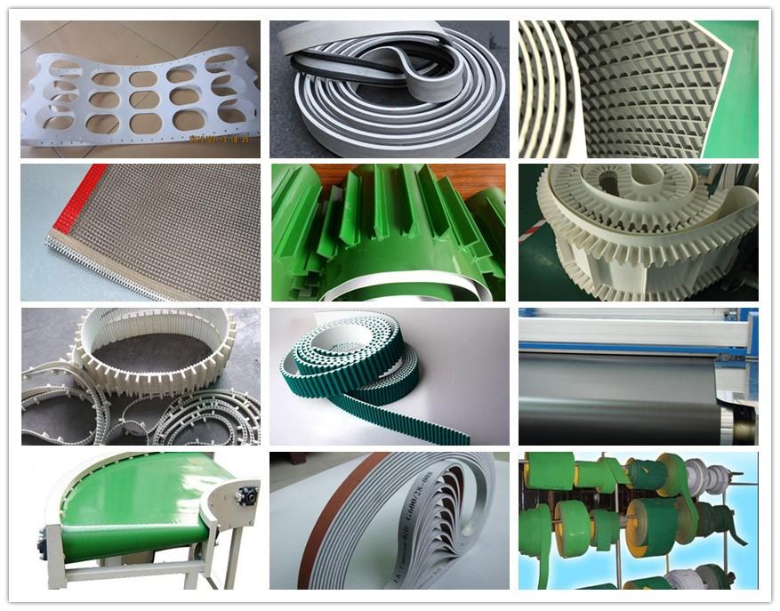 green pvc belt industrial belts