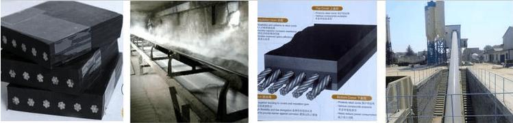 steel cord belt for coal mine